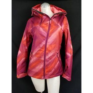 Oakley Size XS Orange Purple Winter Coat Jacket